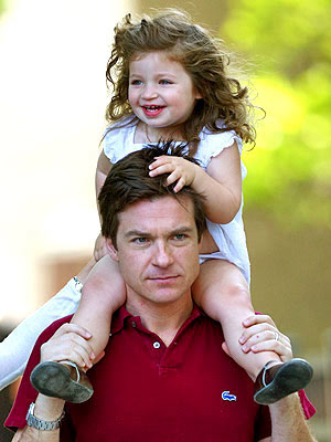 Photo of Jason Bateman & his  Daughter  Francesca Nora Bateman