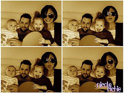 FUNNY FAMILY photo | Joel Madden, Nicole Richie