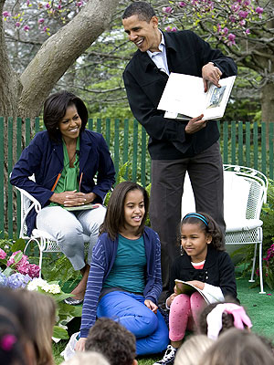 STORY TIME photo | Barack Obama, Michelle Obama