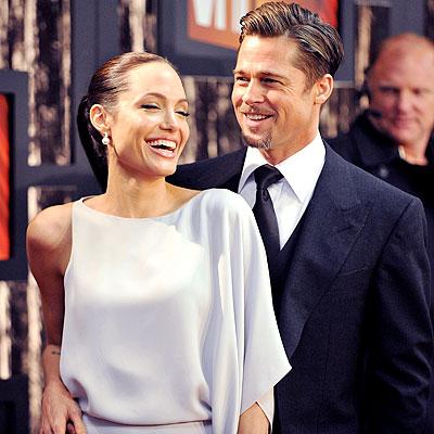 ANGELINA JOLIE AND BRAD PITT photo | Angelina Jolie, Brad Pitt
