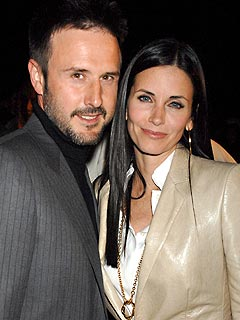 David Arquette & Courteney Cox Arquette.
