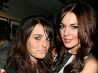 Lindsay Takes Little Sister Ali Out on the Town | Ali Lohan, Lindsay Lohan