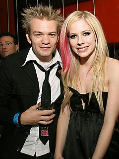 Couples Watch: Avril & Deryck, Paris & Doug ... | Avril Lavigne, Deryck Whibley