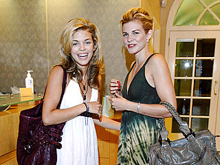 AnnaLynne McCord Takes Her Sisters for a Spa Day | AnnaLynne McCord