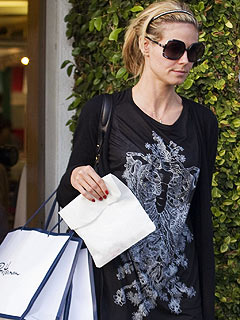 Heidi Klum's Post-Pregnancy Family Shopping Trip | Heidi Klum