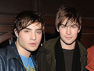 Ed & Chace Have a Gossip Guys' Night Out in NYC | Chace Crawford, Ed Westwick