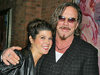 photo | Marisa Tomei, Mickey Rourke