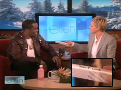 photo | Ellen DeGeneres, Sean \P. Diddy\ Combs