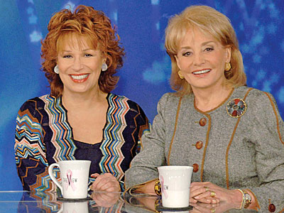 photo | Barbara Walters, Joy Behar