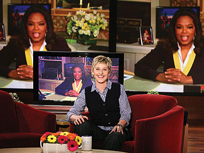  photo | Ellen DeGeneres, Oprah Winfrey