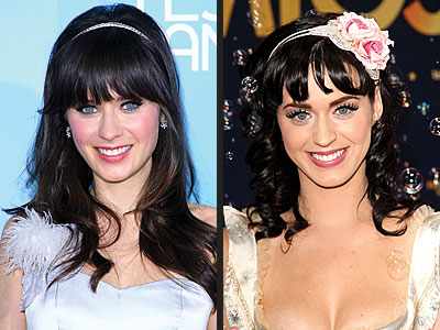 photo | Katy Perry, Zooey Deschanel