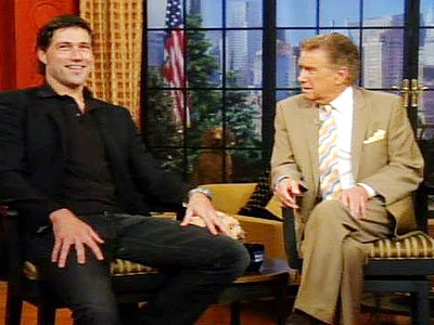 photo | Matthew Fox, Regis Philbin