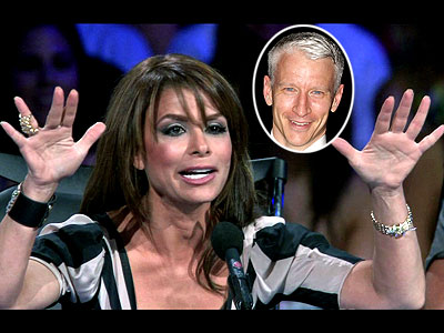 photo | Anderson Cooper, Paula Abdul