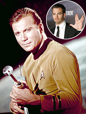photo | Chris Pine, William Shatner