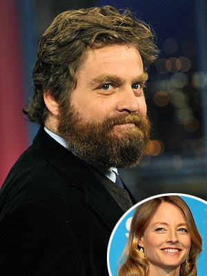 photo | Jodie Foster, Zach Galifianakis