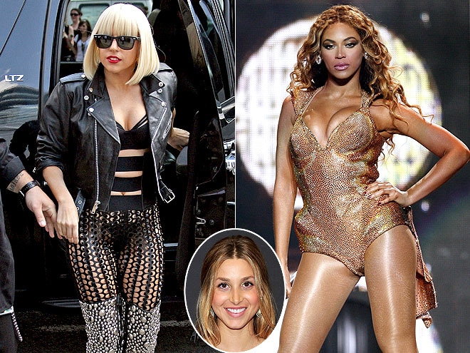  photo | Beyonce Knowles, Lady Gaga, Whitney Port