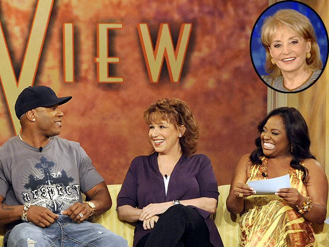 photo | Barbara Walters, Joy Behar, LL Cool J, Sherri Shepherd