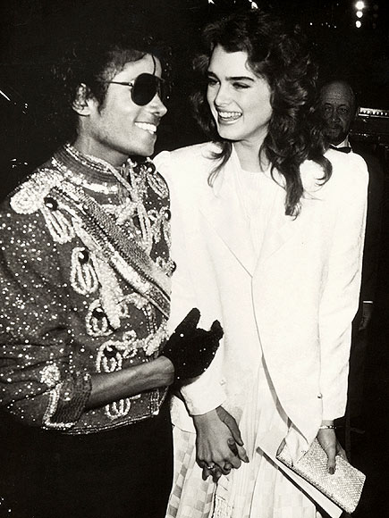 photo | Brooke Shields, Michael Jackson