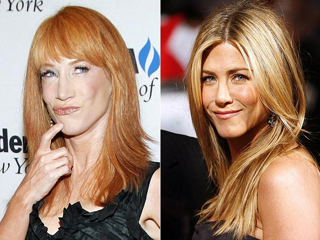 photo | Jennifer Aniston, Kathy Griffin