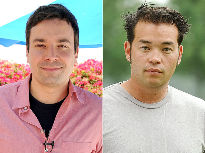 photo | Jimmy Fallon, Jon Gosselin