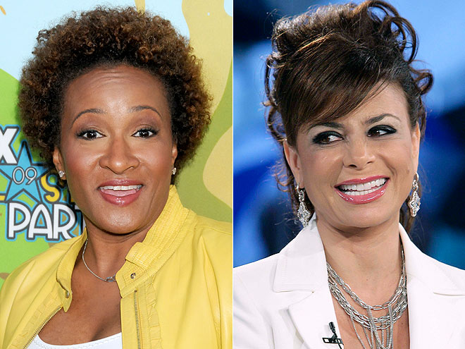  photo | Paula Abdul, Wanda Sykes