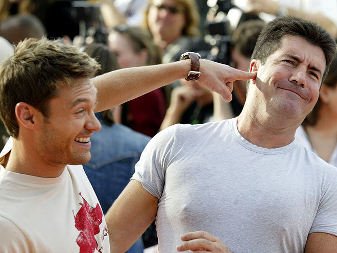 photo | Ryan Seacrest, Simon Cowell