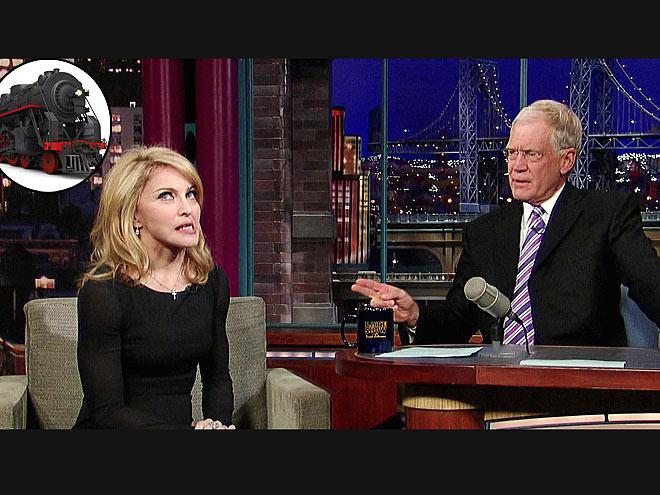 photo | David Letterman Cover, Madonna