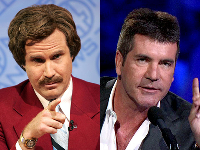 photo | Simon Cowell, Will Ferrell