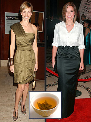 GO THE GREEN (TEA) ROUTE photo | Hilary Swank, Mariska Hargitay