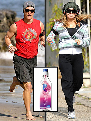 SIP YOUR VITAMINS photo | Fergie, Matthew McConaughey