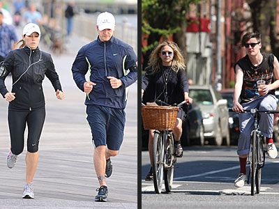 GO ON A FITNESS DATE photo | Jessica Biel, Justin Timberlake, Mary-Kate Olsen