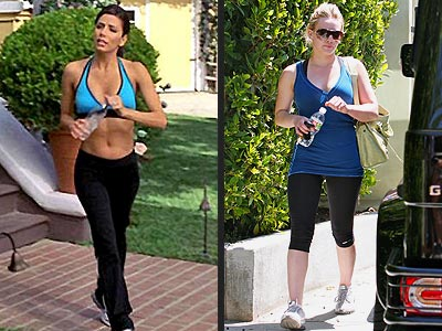 BE A SHOW-OFF  photo | Eva Longoria, Hilary Duff