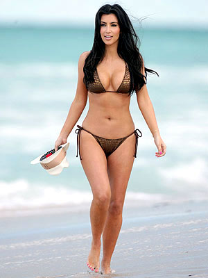 Anti cellulite Kim Kardashian