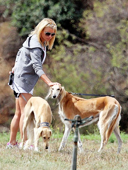 8. BOND WITH PUPPIES  photo | Jessica Simpson