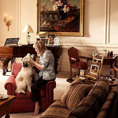 FAMILY ROOM photo | Candy Spelling