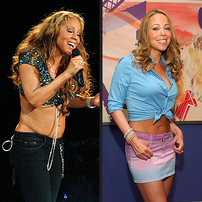 Mariah Carey Weight Gain