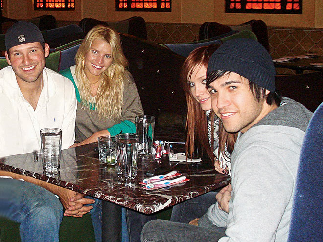 IT'S A DOUBLE DATE! photo | Jessica Simpson Cover, Ashlee Simpson, Jessica Simpson, Tony Romo