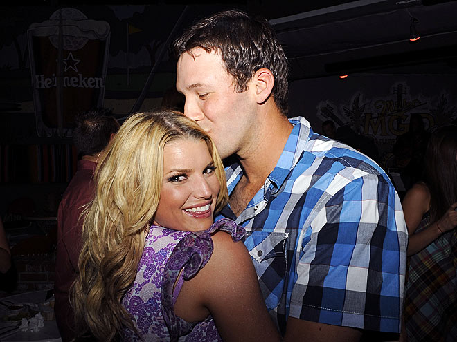 BIRTHDAY GIRL photo | Jessica Simpson, Tony Romo