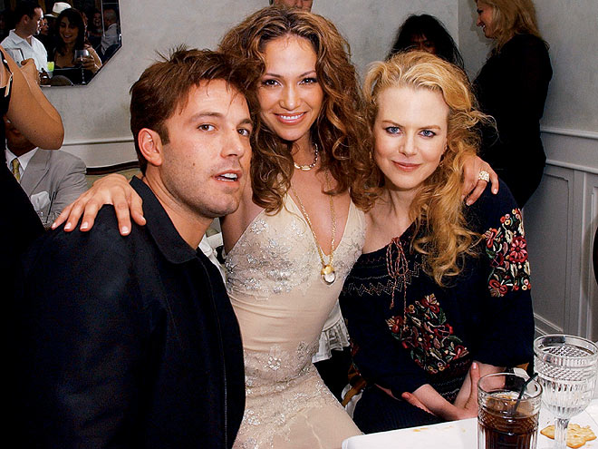 JUST FRIENDS? photo | Ben Affleck, Jennifer Lopez, Nicole Kidman
