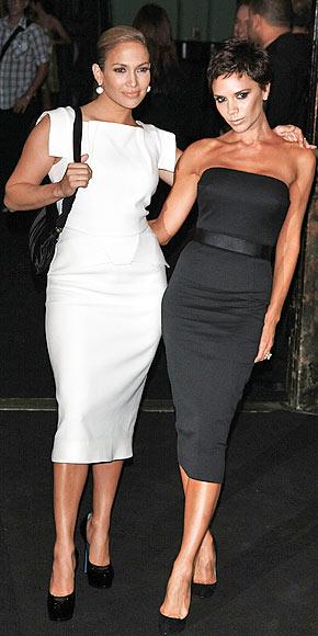 BEST BUDS? photo | Jennifer Lopez, Victoria Beckham