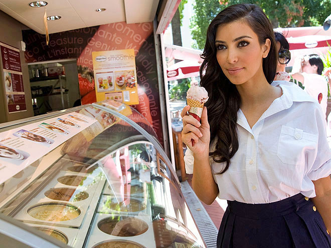 ICE CREAM photo | Kim Kardashian