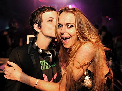 NEW YEAR'S KISS photo | Lindsay Lohan, Samantha Ronson