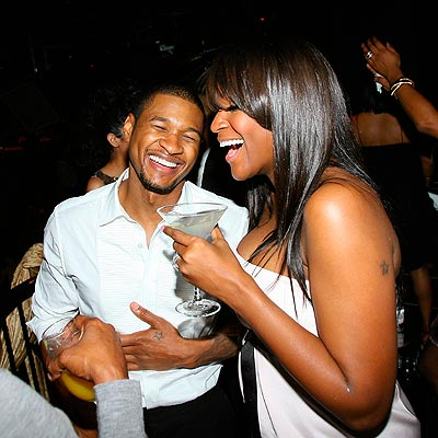 VEGAS, BABY! photo | Tameka Foster, Usher