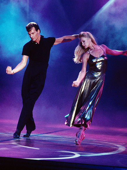 IN SYNC photo | Lisa Niemi, Patrick Swayze