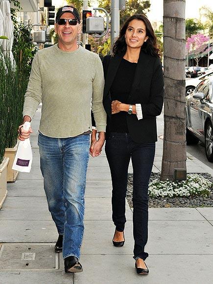 BRUCE & EMMA photo   Bruce Willis