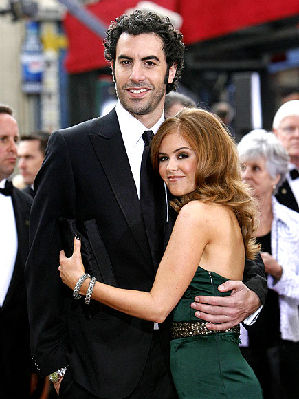 ISLA & SACHA photo | Isla Fisher, Sacha Baron Cohen