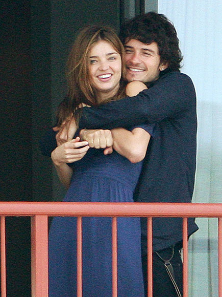 ORLANDO & MIRANDA photo | Miranda Kerr, Orlando Bloom