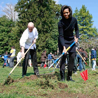 7. GOOD DIRT  photo | Michelle Obama
