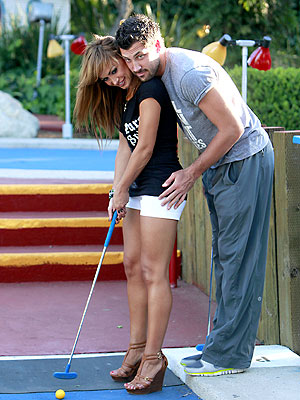 3. HIT THE ARCADE photo | Karina Smirnoff, Maksim Chmerkovskiy