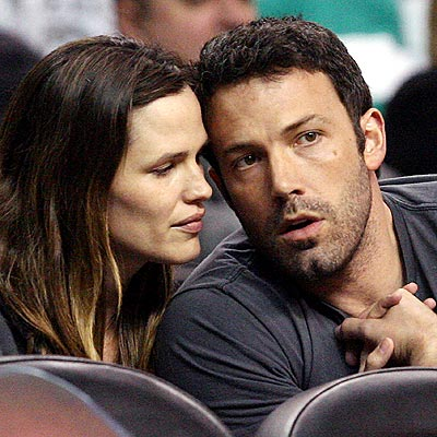 BASKETBALL photo | Ben Affleck, Jennifer Garner